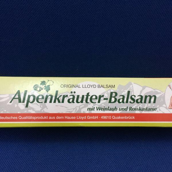 Alpenkrauter balzsam vörösszőlővel és vadgesztenyével